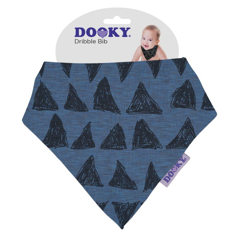 Produkt - Podbradník Dribble Bib Blue Tribal